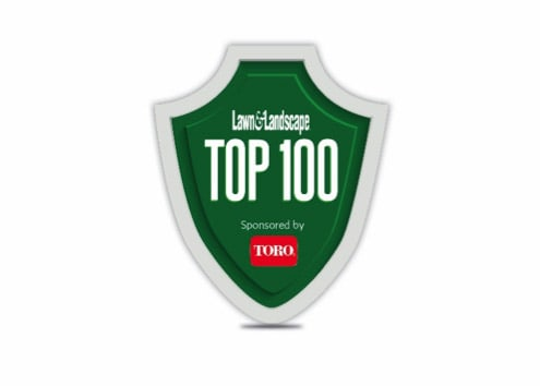 Lawn and Landscape top 100 Award