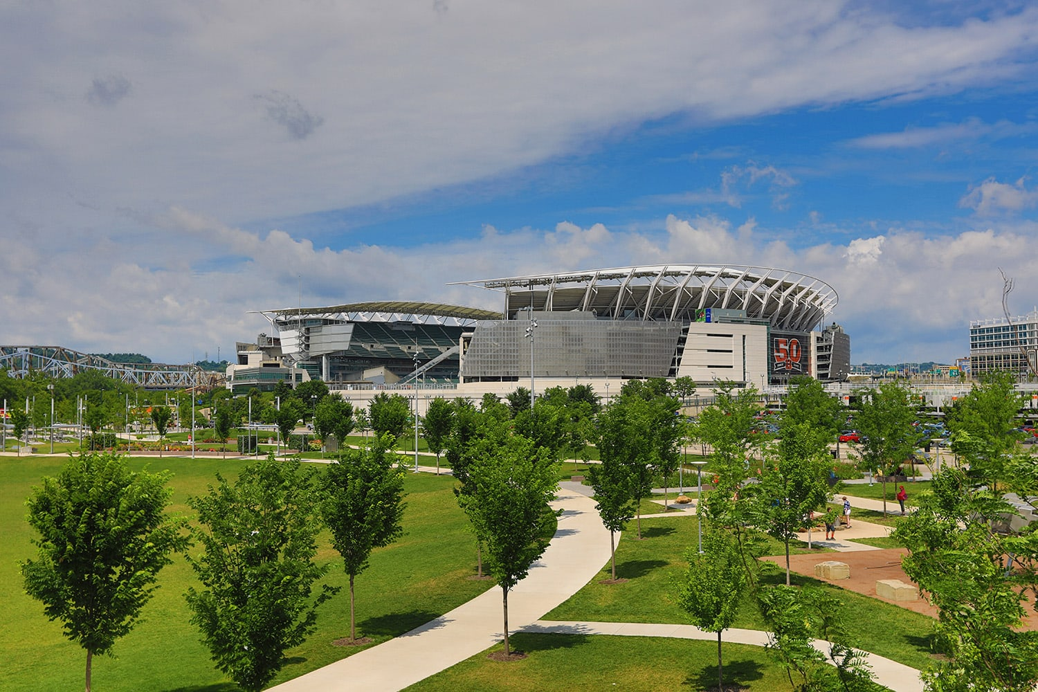 <p>Paul Brown Stadium</p>